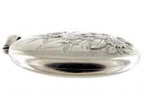 Silver Victorian Oval Locket