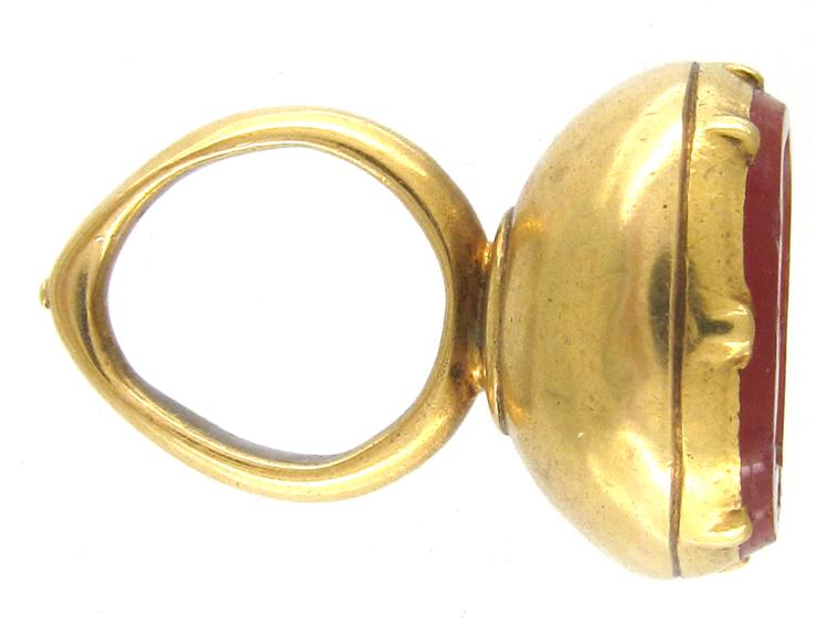 Georgian Gold & Cornelian Seal