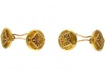 French 18ct Gold Victorian Cufflinks