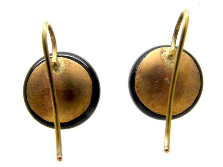 Banded Sardonyx Earrings
