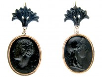 Berlin Iron Drop Earrings