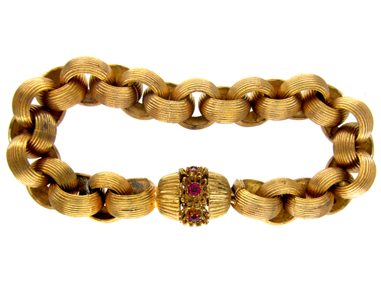 Large Pinchbeck Georgian Bracelet