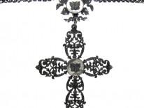 Berlin Iron Cross on Berlin Iron Chain