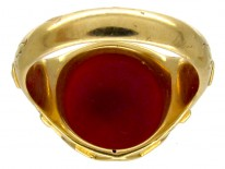 Masonic 18ct Gold Victorian Signet Ring