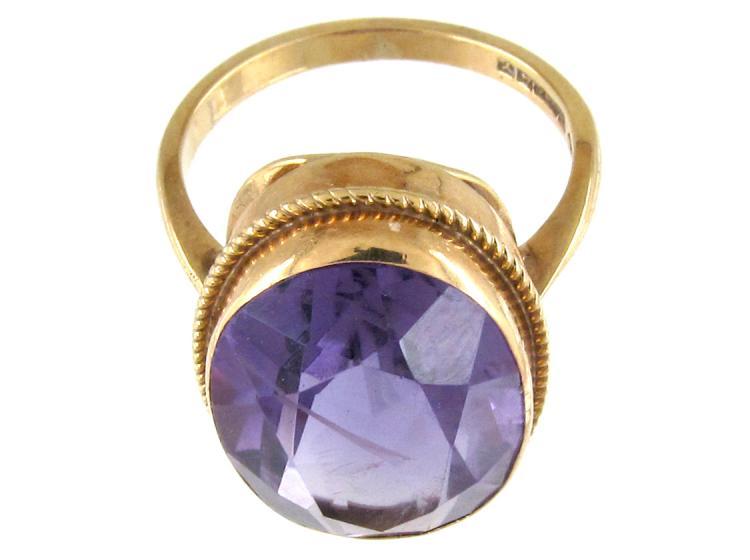 Amethyst 9ct Gold Ring