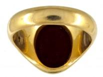 Victorian 18ct Gold & Carnelian Intaglio Signet Ring