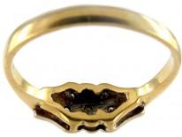 Diamond 18ct Gold & Platinum Art Deco Ring