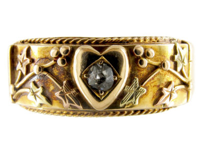 Opening Darling Victorian Gold Ring