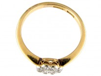 Small Edwardian Diamond Cluster Ring