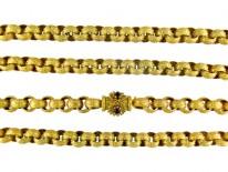 Georgian Thick Pinchbeck Chain