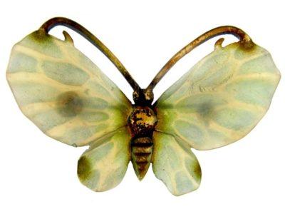 Art Nouveau Horn Butterfly