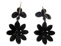 Vauxhall Glass Flower Drop Earrings
