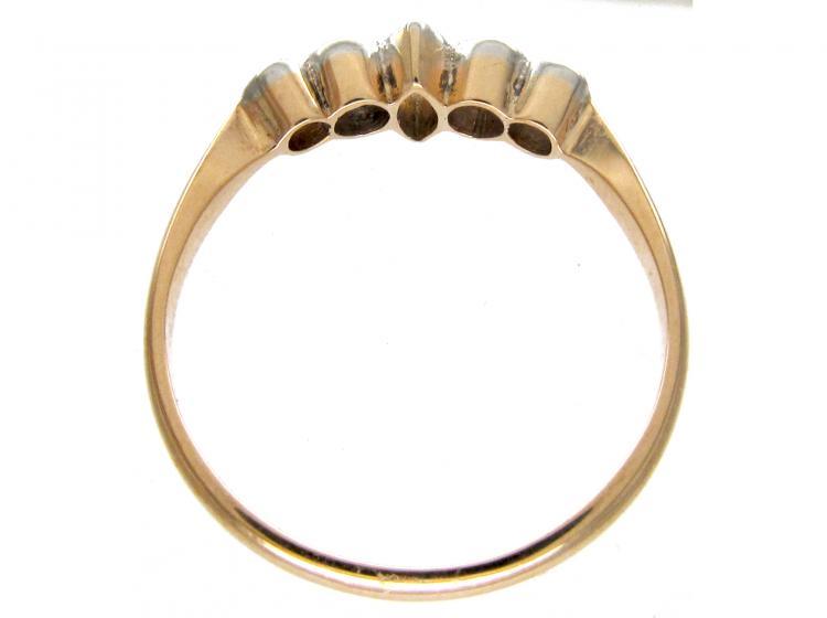 Diamond Edwardian Five Stone Ring