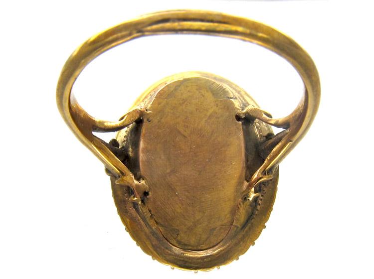 Georgian Doves of Pliny Friendship Ring
