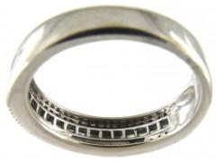 Sapphire & Diamond Half Eternity Ring