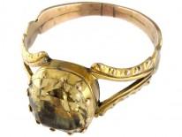 Georgian 15ct Gold & Topaz Ring