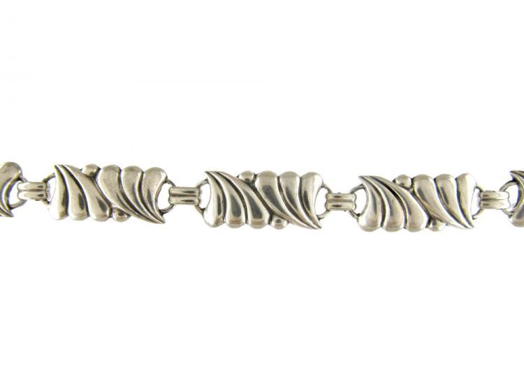 Austrian Silver Art Nouveau Bracelet
