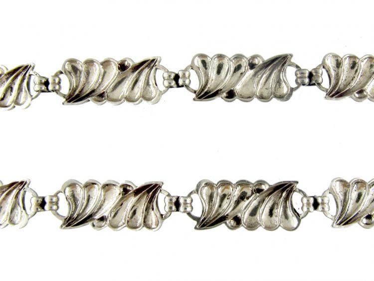 Austrian Silver Art Nouveau Necklace
