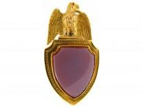Victorian 18ct Gold Eagle Vinaigrette Locket