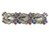 Italian 1960s Silver & Enamel Bracelet by