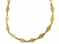 French 18ct Gold Regency Chain