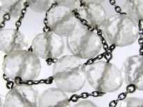 Rock Crystal & Silver Bead Necklace
