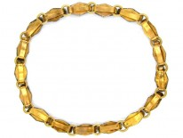 Georgian Vauxhall Glass Necklace