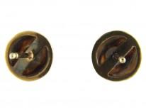 Diamond 18ct Gold Stud Earrings