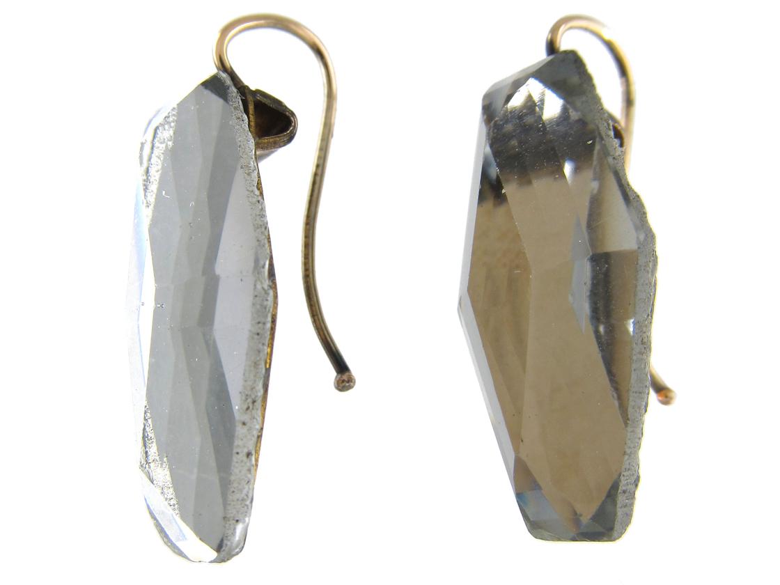 Georgian Vauxhall Glass Earrings