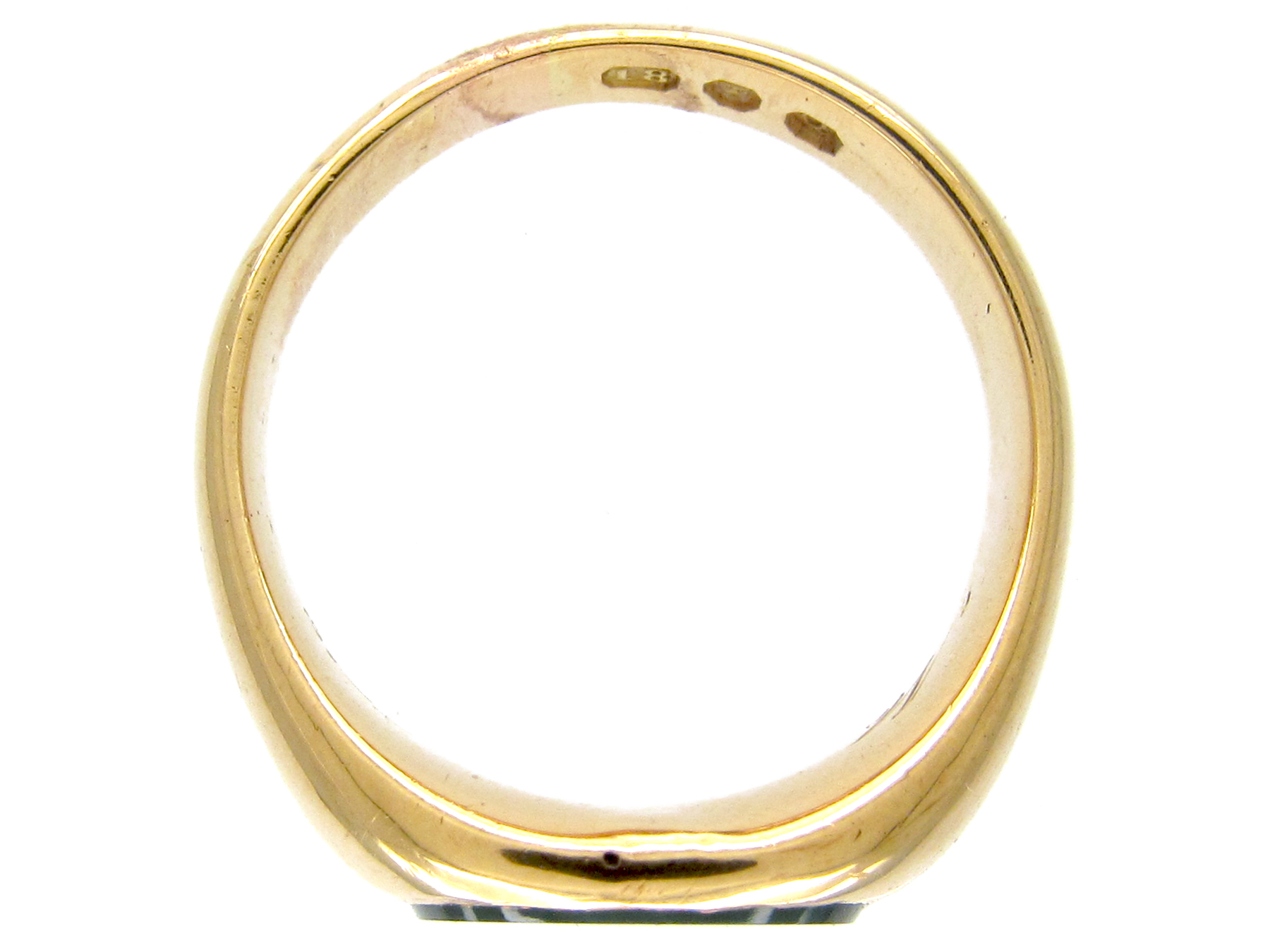 18ct Gold & Bloodstone Signet Ring