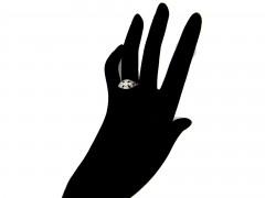 Edwardian Diamond Openwork Ring