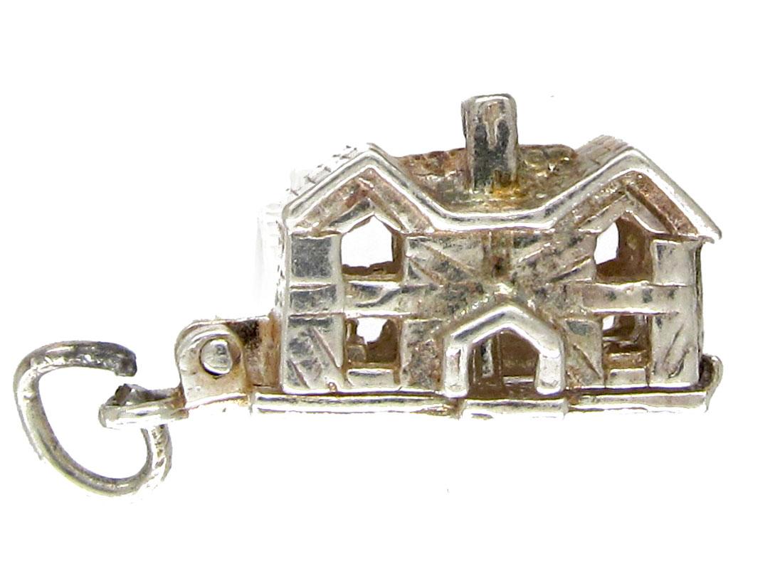 Silver Home Sweet Home Charm