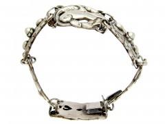 Silver Bracelet attributed to a Georg Jensen Design