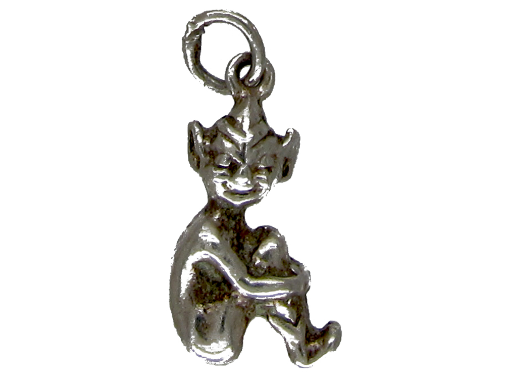 Silver Pixie Charm