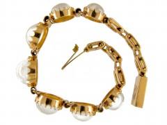 18ct Gold Moonstone Bracelet
