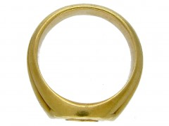 18ct Gold Victorian Signet Ring