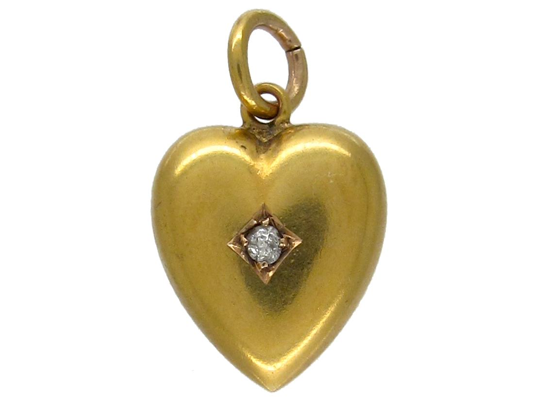 15ct Gold Heart Charm