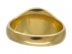 18ct Gold Pegasus Signet Ring