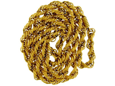 Georgian Pinchbeck Chain