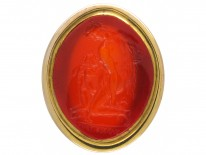 Georgian Cornelian Intaglio Ring