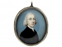 Miniature of a Gentleman by Gervaise Spencer