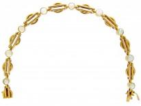 Opal 15ct Gold Edwardian Bracelet