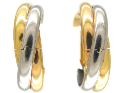Cartier 18ct Gold Two Colour Cufflinks