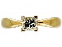 Van Cleef & Arpels Diamond Solitaire Ring