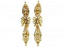 Early 18th Century Diamond Set Drop Earrings