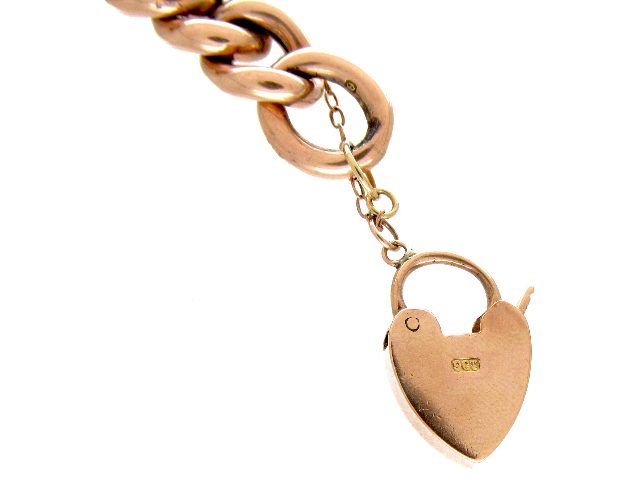 9ct Gold Curb Link Bracelet