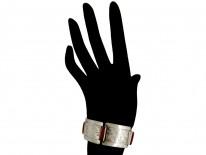 Silver & Cornelian Art Deco Bracelet