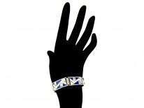Art Deco Enamel Bracelet