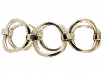 Silver Rings Bracelet