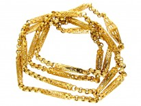Georgian 18ct Gold Lantern Chain